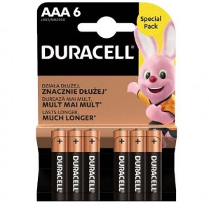 Baterie Duracell  AAA  L03